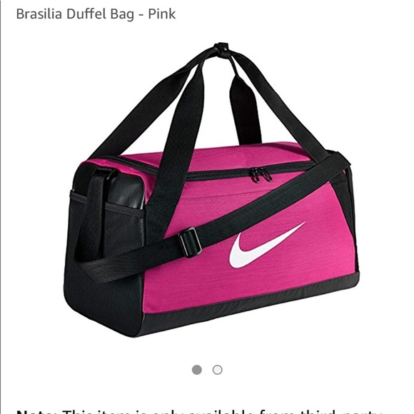 Nike Bags   Hot Pink Nwot Brasilia Duffle   Poshmark f61ff877c4